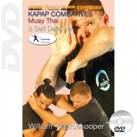 DVD Kapap Combatives Muay Thai Self Defense