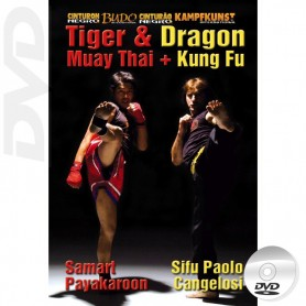 DVD Kung Fu & Muay Thai Dragon & Tiger