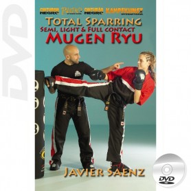 DVD Total Sparring Semi, Light y Full Contact Mugen Ryu