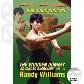DVD Wing Chun Wooden Dummy Form Advanced Drills