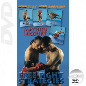DVD MMA Free Fight Strategies