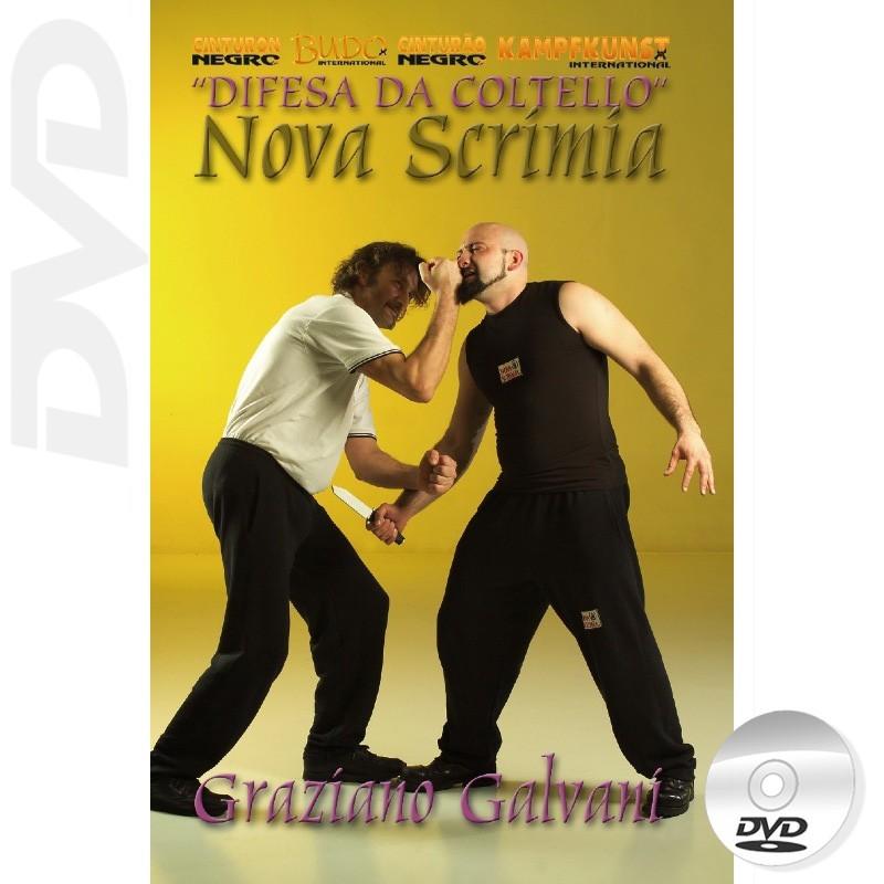 DVD Novascrimia Defense against Knife