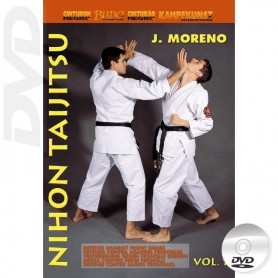 DVD Nihon Taijitsu Vol 1 Defense against Front Grabs