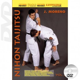 DVD Nihon Taijitsu Vol 2 Defense against Front Attacks