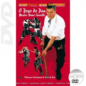 DVD O Jogo Do Pau The Portuguese Staff