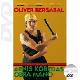 DVD Arnis Koredas Obra Mano