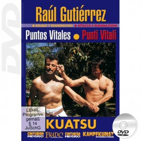 DVD Vital Points Atemi et Kuatsu