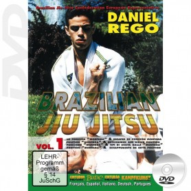 DVD Brazilian Jiu Jitsu The Mount position
