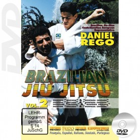 DVD Brazilian Jiu Jitsu Cross & Side Mount