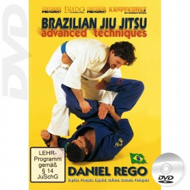 DVD Brazilian Jiu Jitsu Advanced Techniques Vol 1