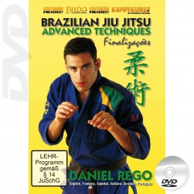 DVD Brazilian Jiu Jitsu Advanced Techniques Vol 2 Submissions