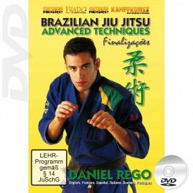 DVD Brazilian Jiu Jitsu Advanced Techniques Vol 2 Submissions