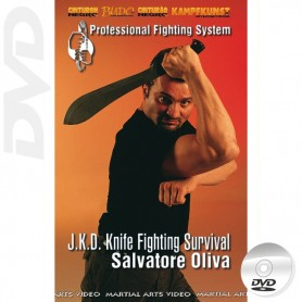DVD JKD Knife Fighting Survival