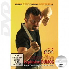 DVD Explosive Dumog Filipino Grappling y JKD