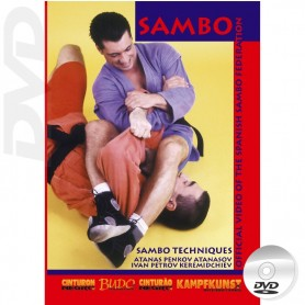 DVD Sambo Tecnica