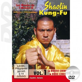 DVD Shaolin Kung Fu Boxing