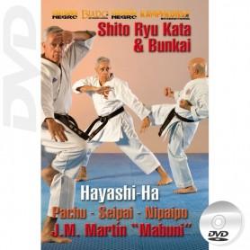 DVD Karate Shito-Ryu Hayashi-Ha Kata e Bunkai
