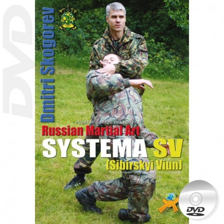 DVD Russian Martial Art Systema SV Training Program Vol1