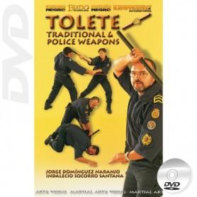 DVD Tolete Canário Tradicional e Armas Policiais
