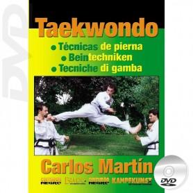 DVD Taekwondo ITF Tecnicas de pierna