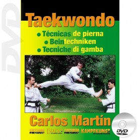 DVD Taekwondo ITF Leg Techniques