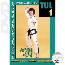 DVD Taekwondo ITF Tul Vol1