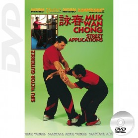 DVD WingTsun Wooden Dummy Street Aplications
