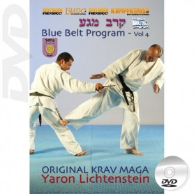 DVD Original Krav Maga Blue Belt program Vol4