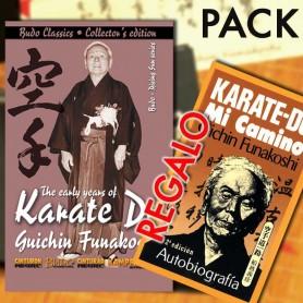Pack DVD Karate-Do The early years Funakoshi + GRATIS Libro Karate-Do, Mi Camino