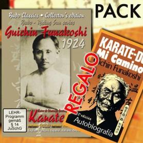 Pack DVD Karate 1924 Kata & Vintage Footage Funakoshi + GRATIS Libro Karate-Do, Mi Camino