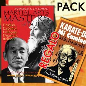 Pack DVD Maestri di arti marziali classico di Budo Giappone & Okinawa + GRATIS Libro Karate-Do, Mi Camino
