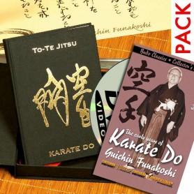 Pack-1 Libro To-Te JItsu Edicion Lujo + DVD Karate Do The early years