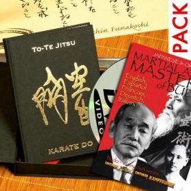 Pack-2 Libro To-Te JItsu Edicion Lujo + DVD Classic Martial Arts Masters of Budo Japan y Okinawa