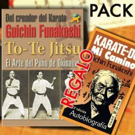 Pack Libro To-Te Jitsu El puño de Okinawa + GRATIS Libro Karate-Do, Mi Camino. Autobiografía de Funakoshi