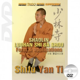 DVD Shaolin Luohan Shi Ba Shou Form Taolu