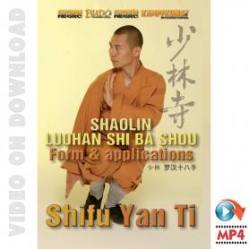 Shaolin Luohan Shi Ba Shou Form