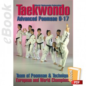 e-Book Taekwondo WTF Advanced Poomsae 9-17. English