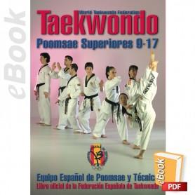 e-Book Taekwondo WTF Poomsae Superiores 9-17. Español