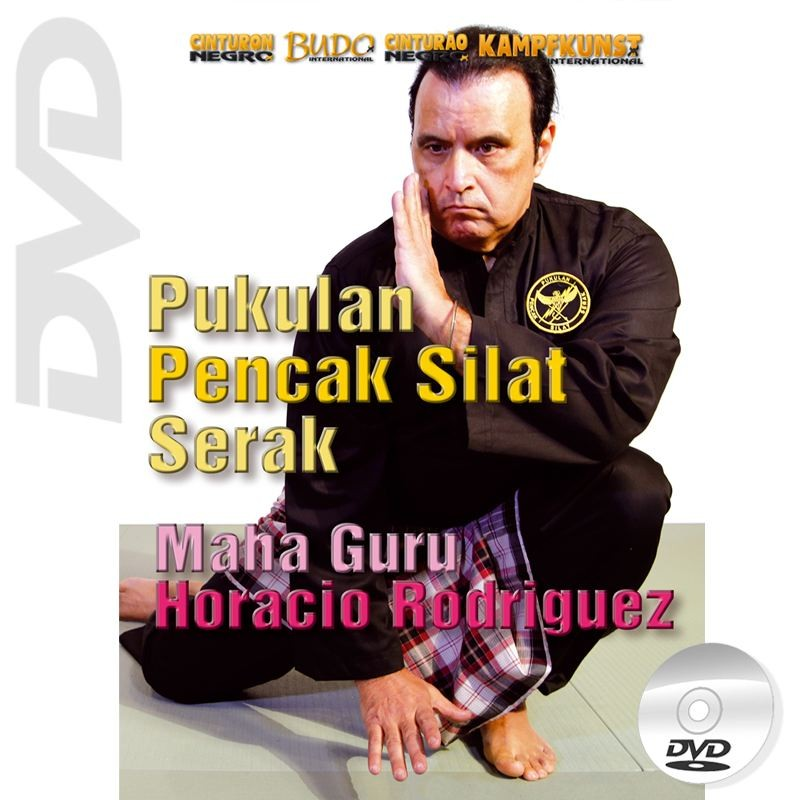 DVD Pukulan Pencak Silat Serak. Mains nues