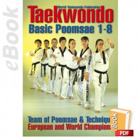 e-Book Taekwondo WTF. Basic Poomsae 1-8. English