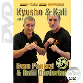 DVD Kyusho et Kali. Mains nues Vol.1