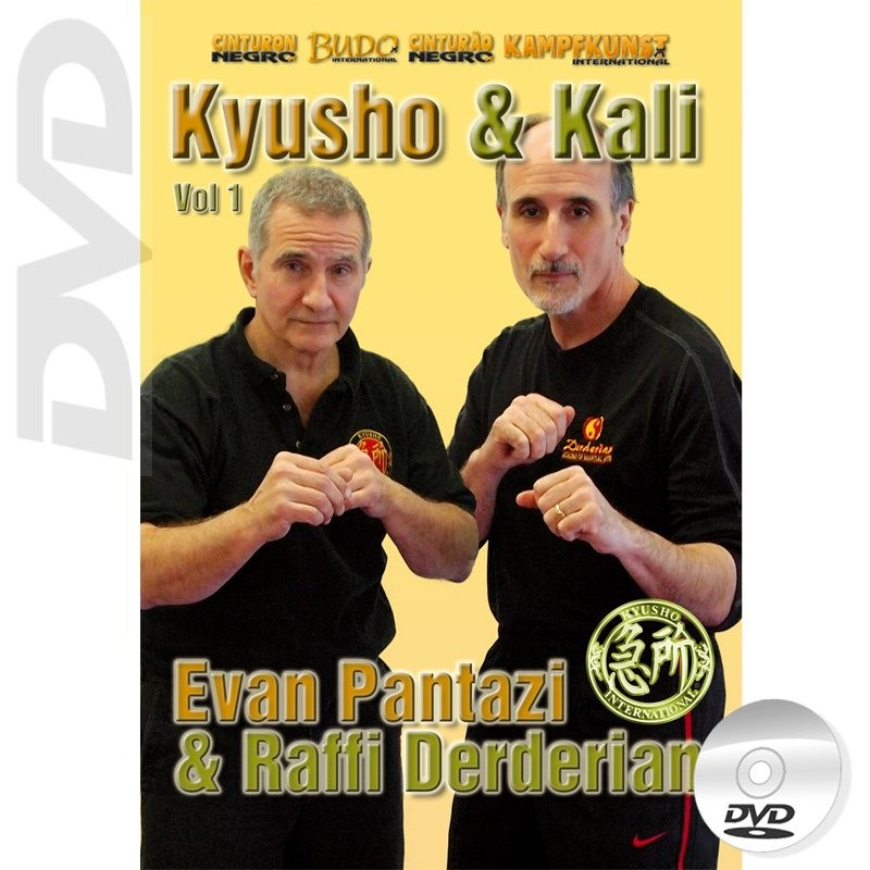 DVD Kyusho and Kali. Empty Hands Vol.1
