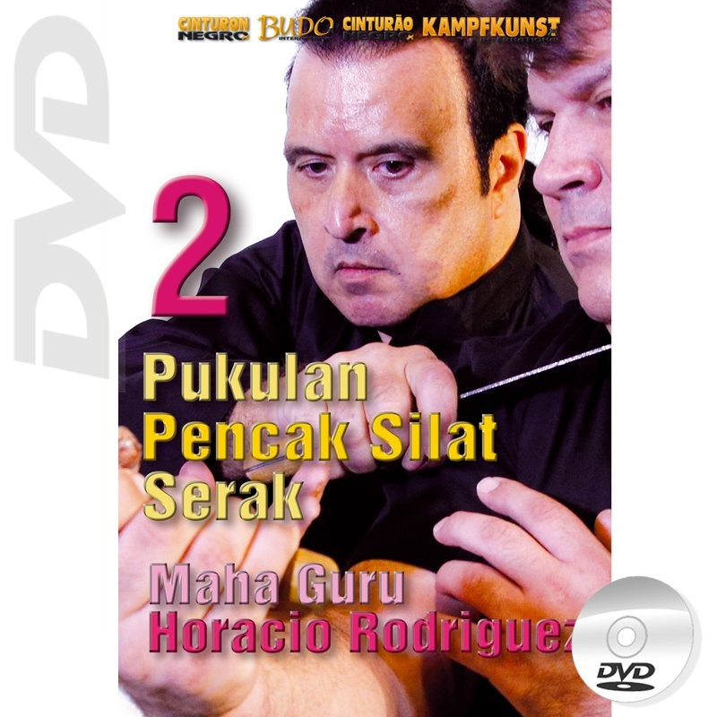 DVD Pukulan Pencak Silat Serak. Weapons