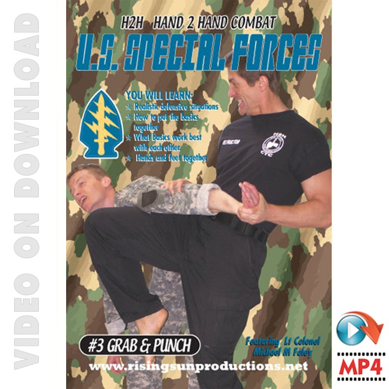 Download Video US Special Forces Hand to Hand Combat Combinations