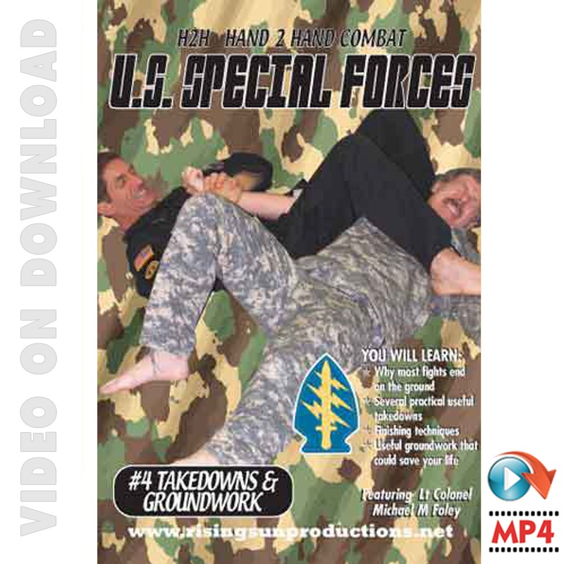 US Special Forces Hand to Hand Combat Takedowns-Locks-Arm Bars