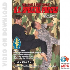 US Special Forces Hand to Hand Combat Knees