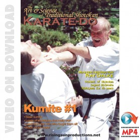 Art and Science of Shotokan Karate. Kumite Vol.1