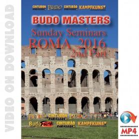 Budo Masters Meeting Arti Marziali 2016. Vol.5