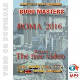Budo Masters Meeting Arts Martiaux 2016. Vidéo Gratuit