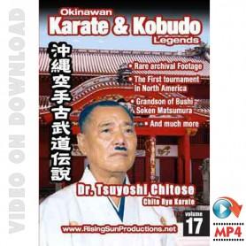 Dr. Tsuyoshi Chitose Chito Ryu Karate